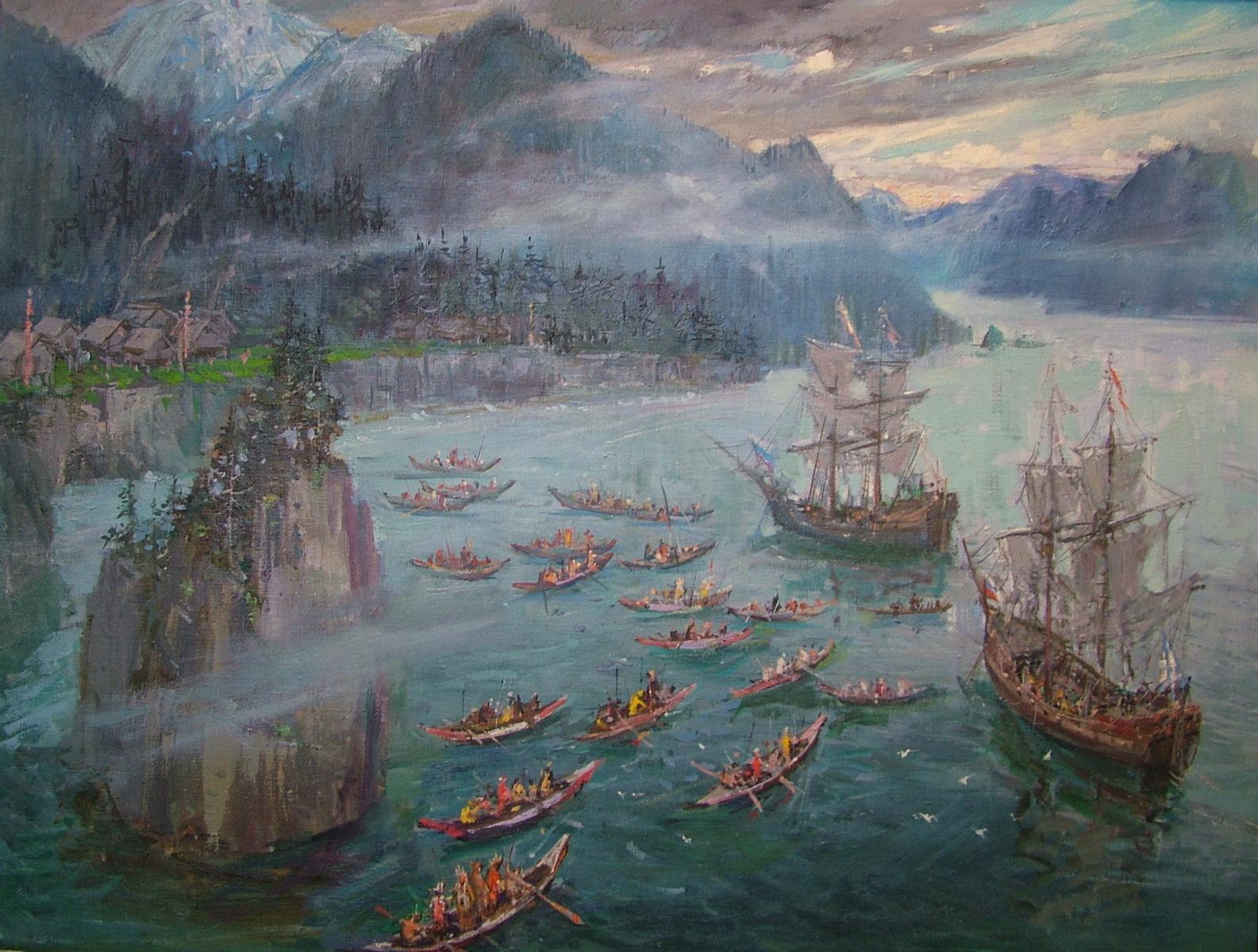 Индейцы северо западного побережья